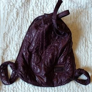 Marc by Marc Jacobs quilted draw string backpack